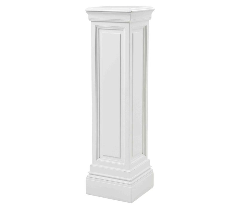 Column Salvatore 'L' White 120cm high