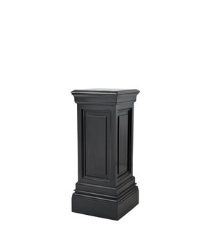 Eichholtz Column Salvatore 'S' Black 80cm high