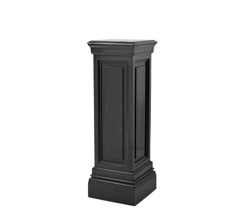 Zwarte zuil Salvatore 'M' 100cm hoog