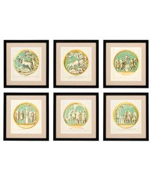 Eichholtz Prints Pietro Santi Bartoli - set of 6
