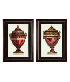 Eichholtz Prints Empire Urnen Set von 2