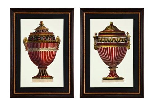 Eichholtz Prints Empire Urns set van 2