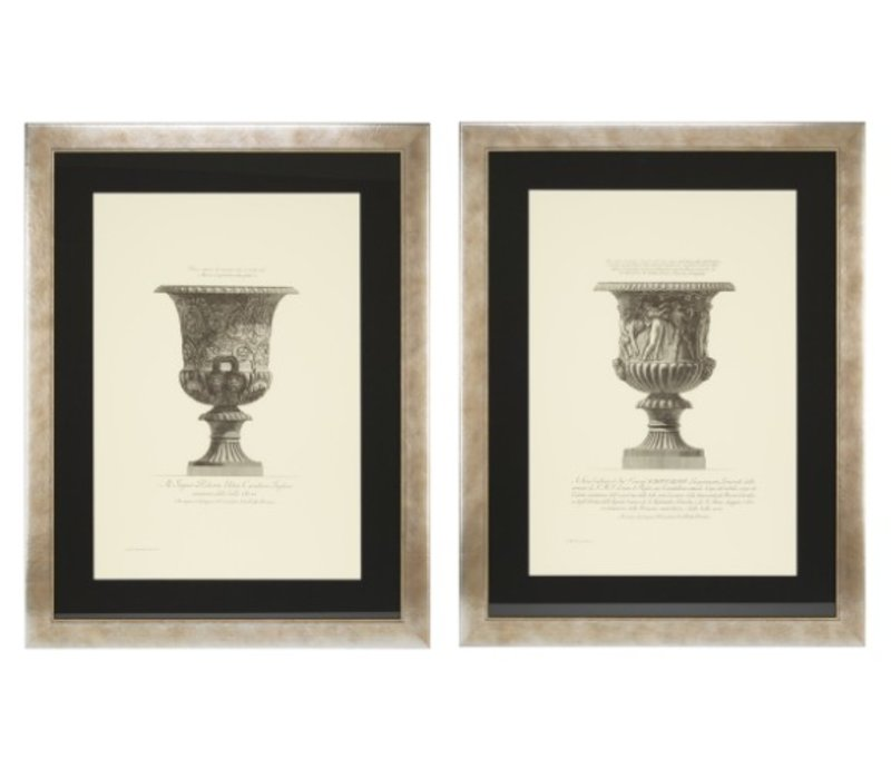 Prints Giovanni Piranesi set of 2