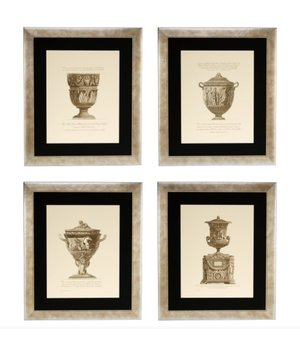 Eichholtz Prints Giovanni Battista - Set von 4