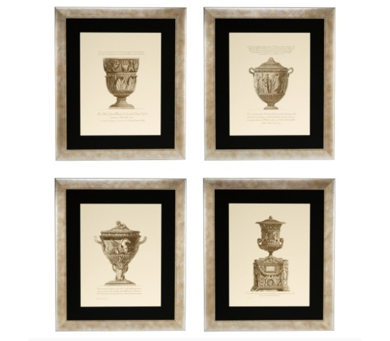 Prints Giovanni Battista - set of 4