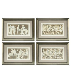 Eichholtz Prints Antiquities of Athens - set of 4