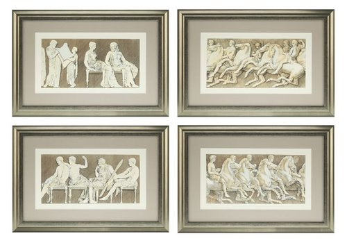 Eichholtz Prints Antiquities of Athens Set von 4