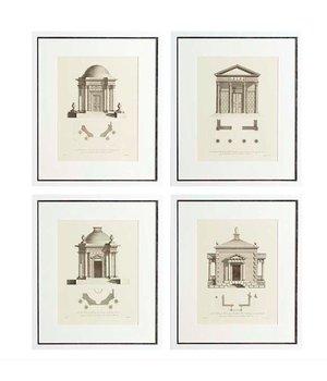 Eichholtz Prints Architecture Set von 4