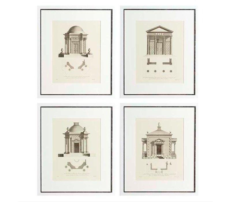 Prints Architecture set of 4