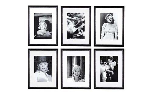 Eichholtz Prints Marilyn Monroe set van 6