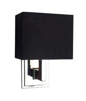 Eichholtz Wandlampe Balthazar mit schwarzer Kappe