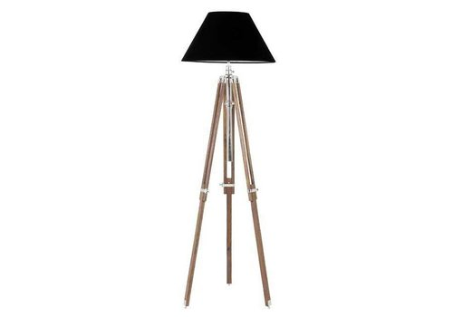 Eichholtz Driepoot lamp 'Telescope' wood