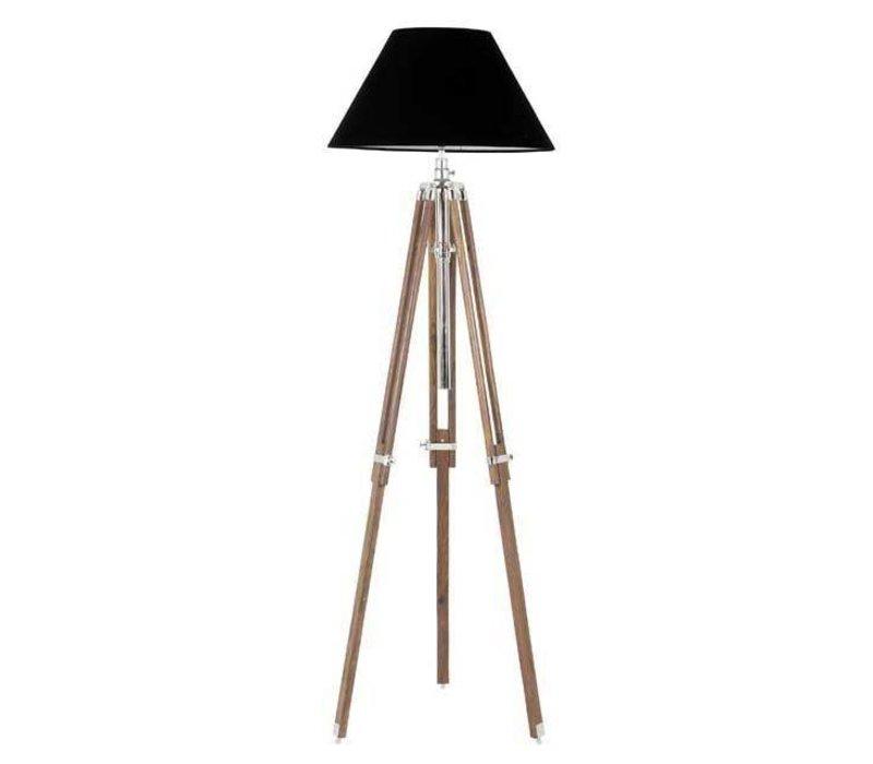 Floor lamp Telescope 'wood'