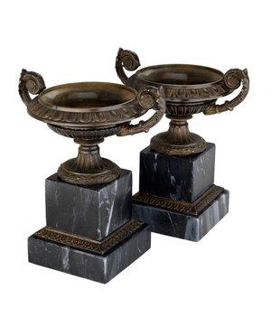 Eichholtz Decorative vase Bresson set of 2, 16 x 18,5cm (h)