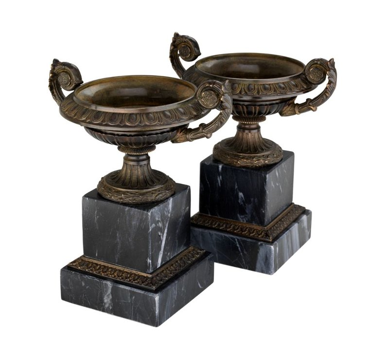 Decorative vase Bresson set of 2, 16 x 18,5cm (h)