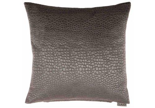 CLAUDI Chique Cushion Biagio Dark Taupe