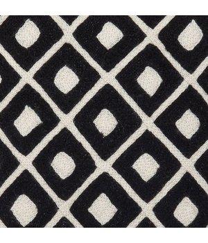 Eichholtz Zierkissen Licorice schwarz