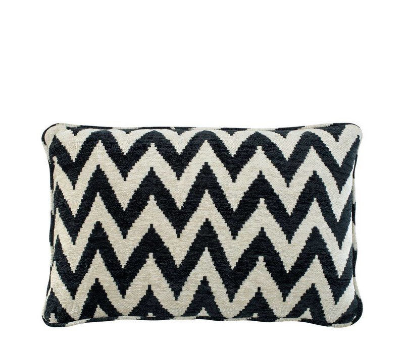 Cushion Chevron color black
