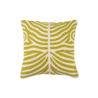 Cushion Zebra color Lime