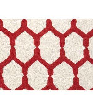 Eichholtz Zierkissen Cirrus Farbe rot & weiß