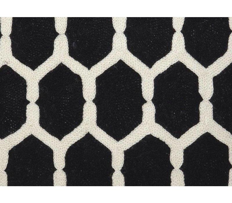 Zierkissen Cirrus Farbe schwarz & weiß