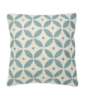 Eichholtz Cushion Loganberry colors blue & white