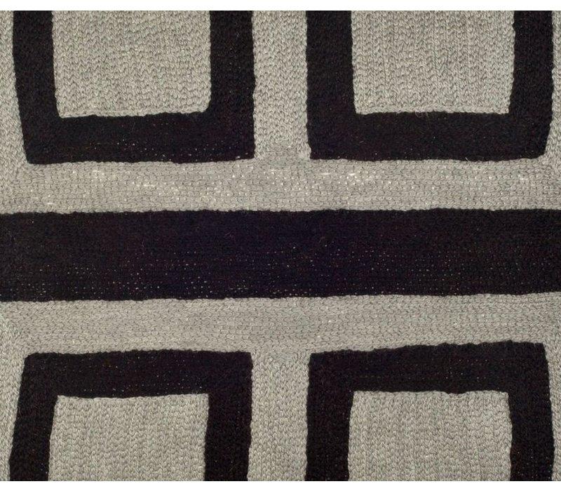 Zierkissen Bliss Farbe Black & Grey