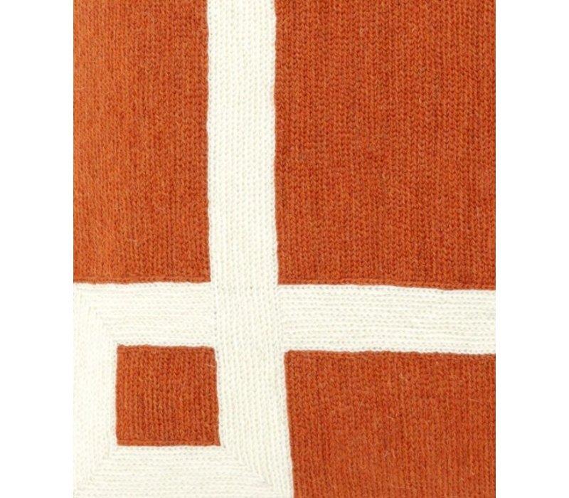 Zierkissen Hartley Farbe Orange