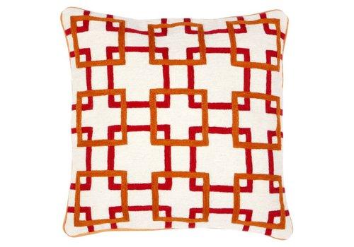 Eichholtz Cushion Bradburry Orange