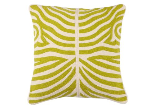 Eichholtz Cushion Zebra Lime