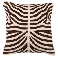 Zierkissen Zebra Brown