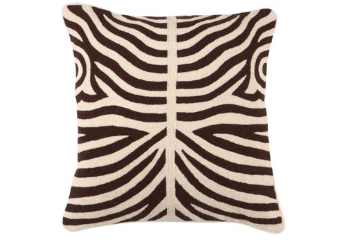 Eichholtz Zierkissen Zebra Brown