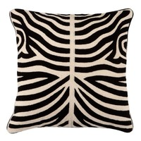 Cushion Zebra color Black