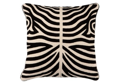 Eichholtz Cushion Zebra Black
