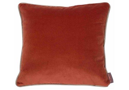 CLAUDI Design Cushion Saffi Burned Orange
