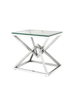 Eichholtz Glass Side table 'Connor' 50,5 x 65 x H. 60 cm