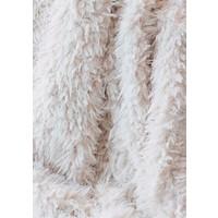 Faux fur plaid 'Lamb' 140cm x 200cm