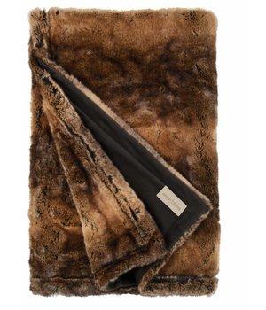 Winter-home Felldecke 'Beaver' in 140 x 200cm