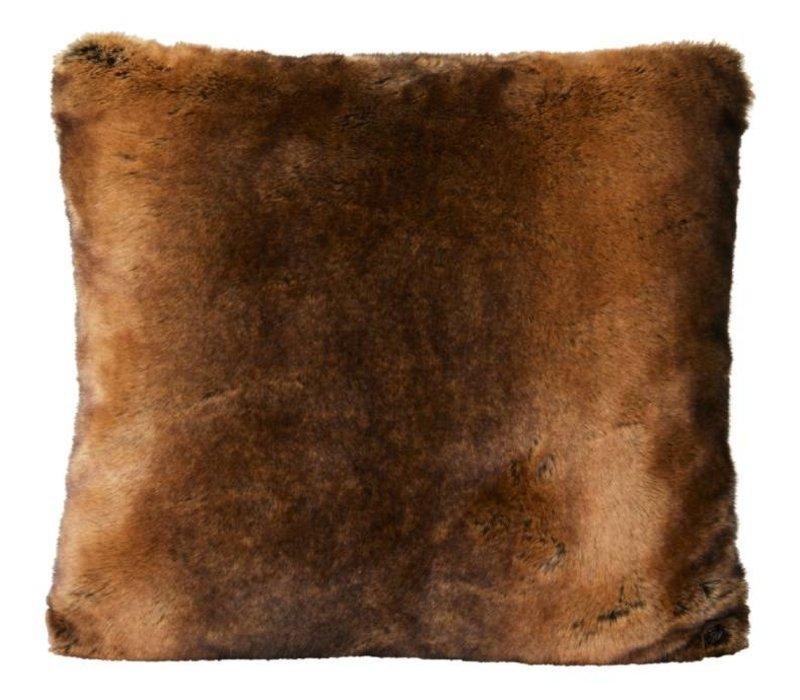 Fellkissen 'Beaver' in 45cm x 45cm