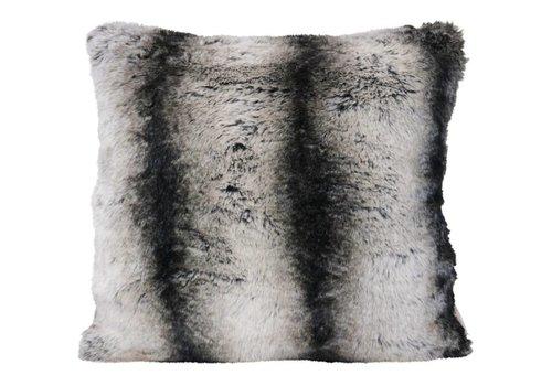 Winter-Home Cushion faux fur 'Marmota'