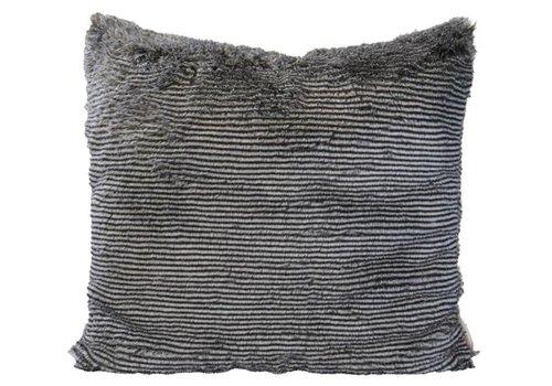 Winter-Home Cushion faux fur Silverracoon