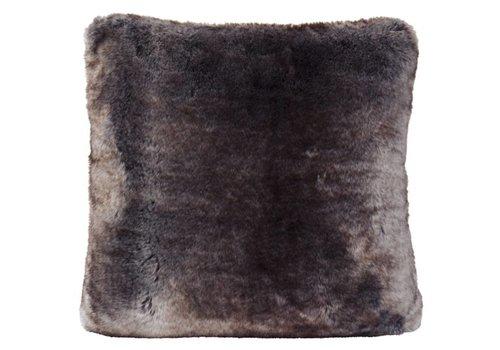 Winter-Home Cushion faux fur Seafox