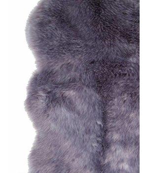 Winter-home Shieepskin 'Purplewolf' in 70 x 115cm