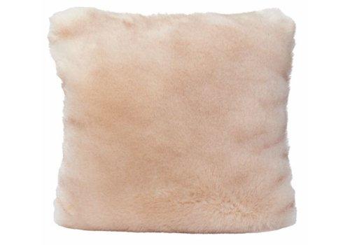Winter-Home Cushion faux fur Sandwolf