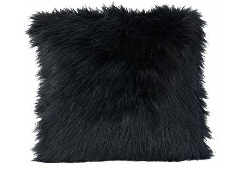 Winter-Home Kussen bont - Blackwolf
