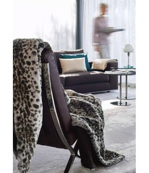Winter-home Fellkissen 'Serval' in 45cm x 45cm
