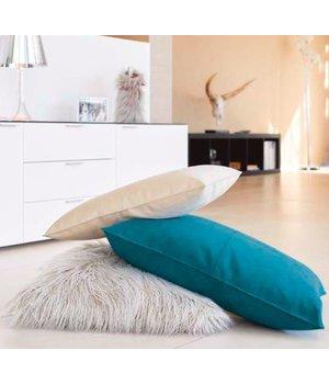 Winter-home Dekokissen Alcantara 'Ivory' in 45cm x 60cm