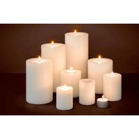 Künstliche Kerzen XL 2 Stück h21xb10