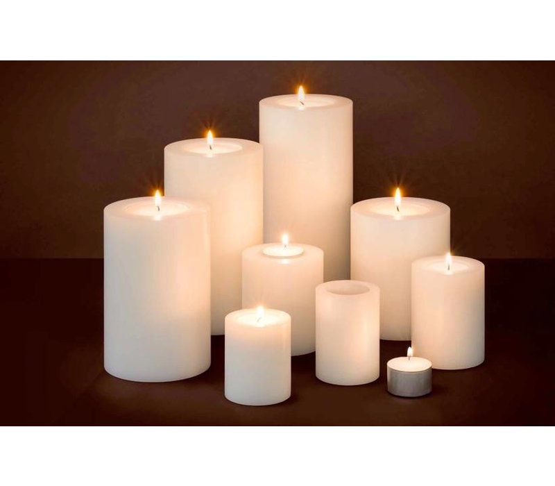Artificial candles M - 2 pieces