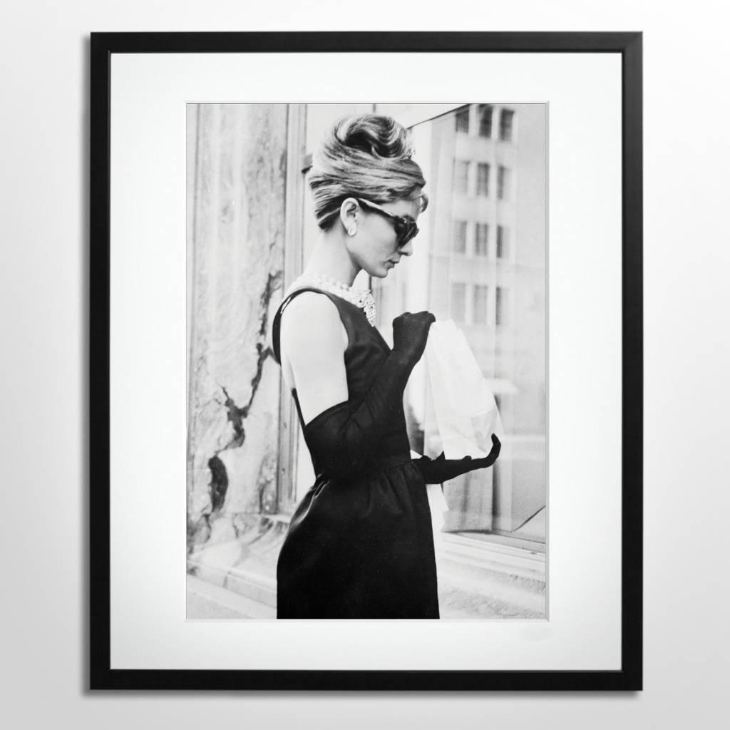 Herontdek Audrey Hepburn met mooie ingelijste foto's